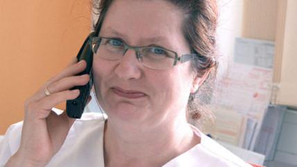Krankenschwester Petra Thiede